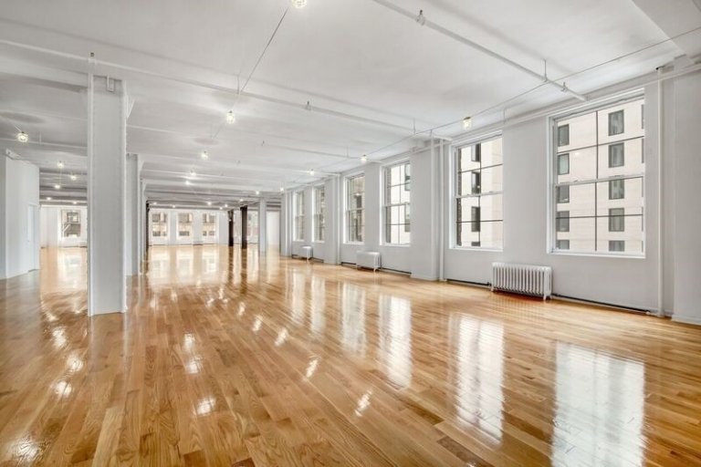 Commercial loft property market in New York City