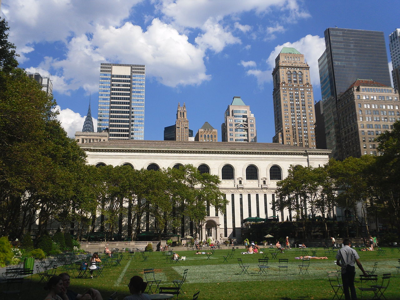 Bryant Park Manhattan Office Space