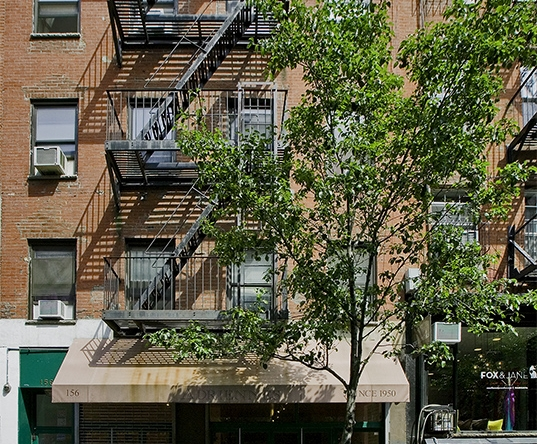 West Village retail space available for long-term lease.