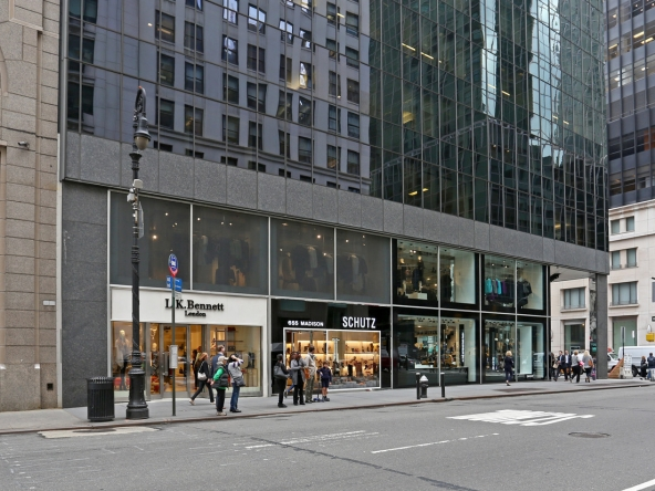 Retail space NYC madison