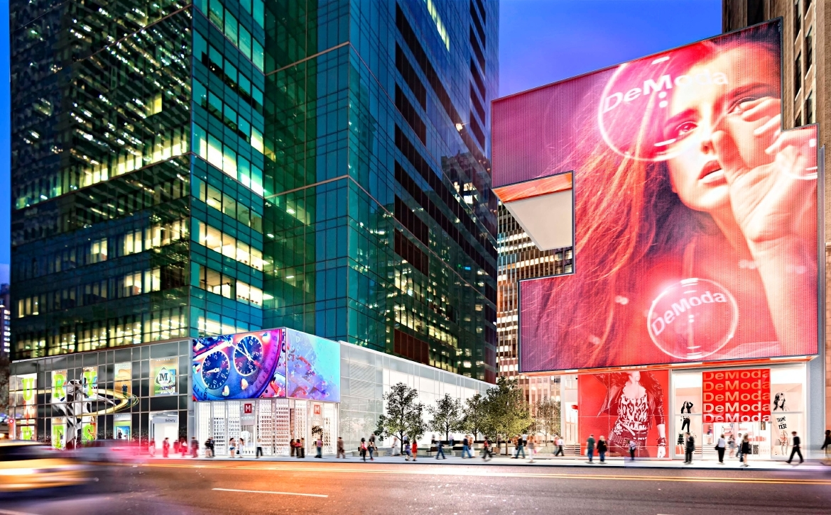 W 42nd St, NYC 10036 Bryant Park Retail space for rent 2,000 – 5,000 sf.