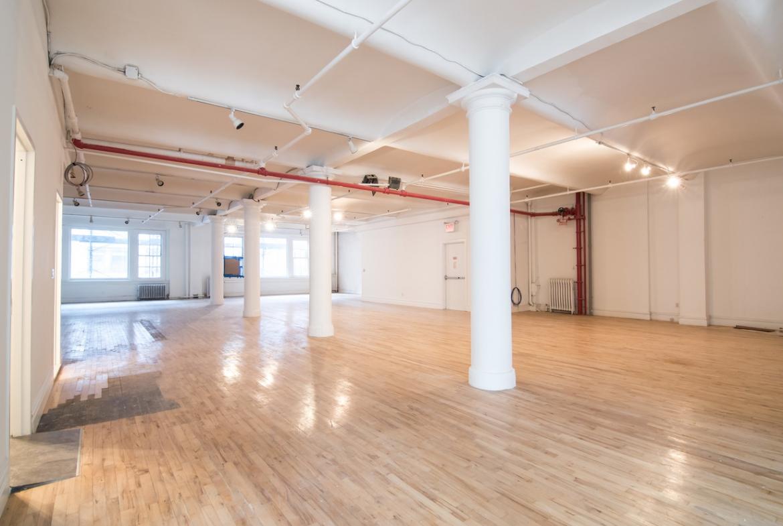 Commercial loft space