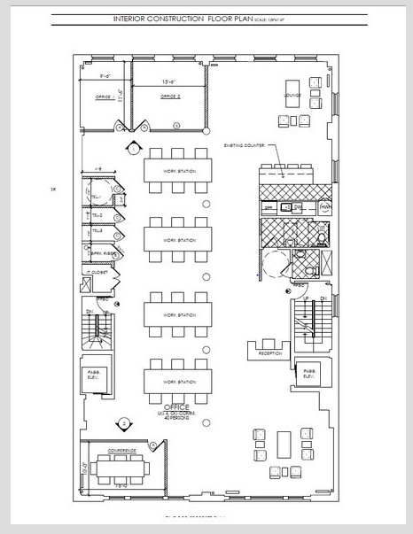 W 18th St, Flatiron Dst, NY, Commercial loft space for rent 5000 sq ft